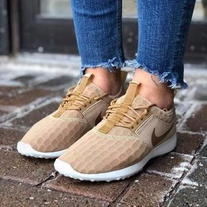 Nike Gold Juvenate Sneakers
